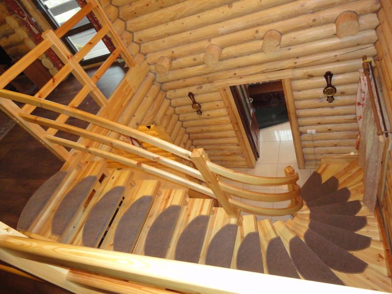 Как сделать лестницу на даче 740